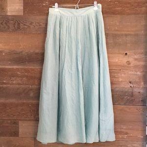 J Crew pleated skirt size 4.
